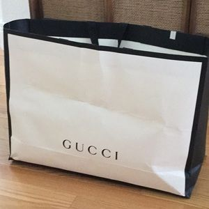 Empty Gucci Gift Bag